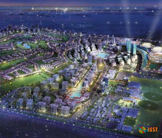 Dubailand в Объединённых Арабских Эмиратах