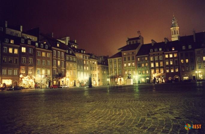 Торговая площадь Варшавы