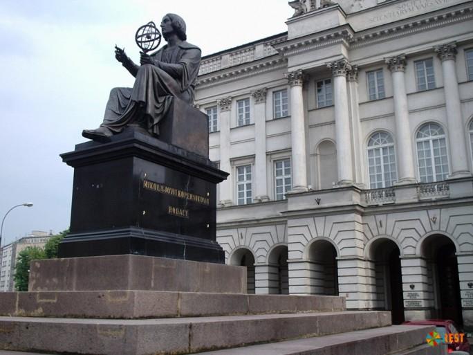 Монумент Николаю Копернику