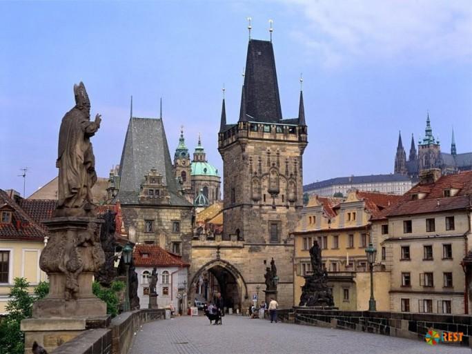 Карлов мост, Прага, Чехия
