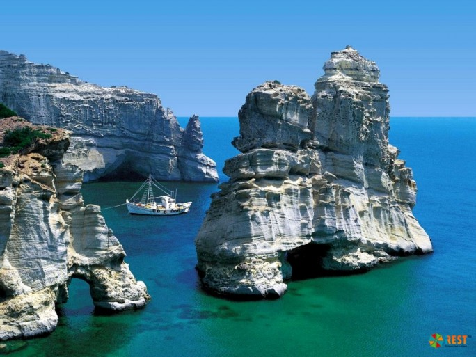 Остров Милос, Греция