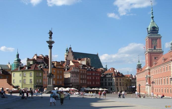 Основные достопримечательности Варшавы