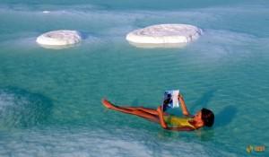 Что за чудеса бывают на Мертвом море?