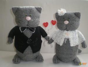 В Нью-Йорке официально поженились два кота