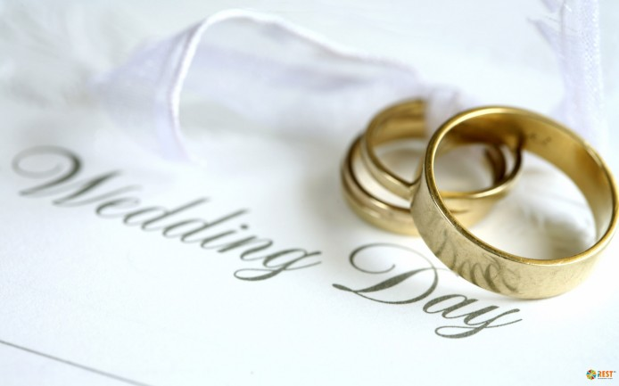 с мира по свадебной традиции…