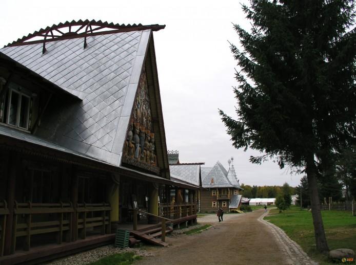 Этнический туризм в деревне Верхние Мандроги и Ленинградской области