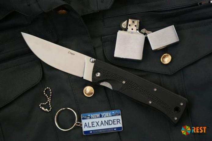 современные охотничьи складные ножи