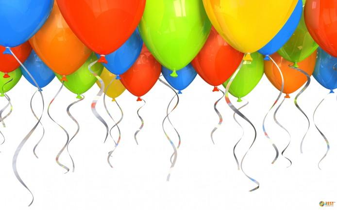 Открытка из шариков – небанальное поздравление