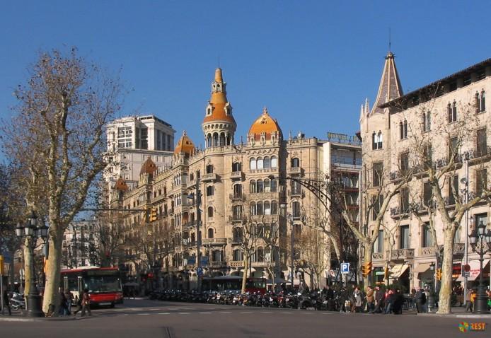 Пленительная Барселона
