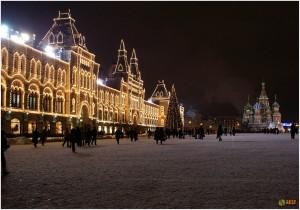 Новогодняя Москва встречает гостей