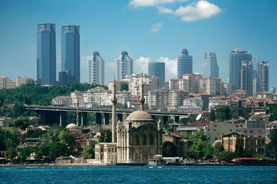 Современный Стамбул