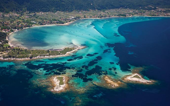 Халкидики - самый экологичный курорт Греции