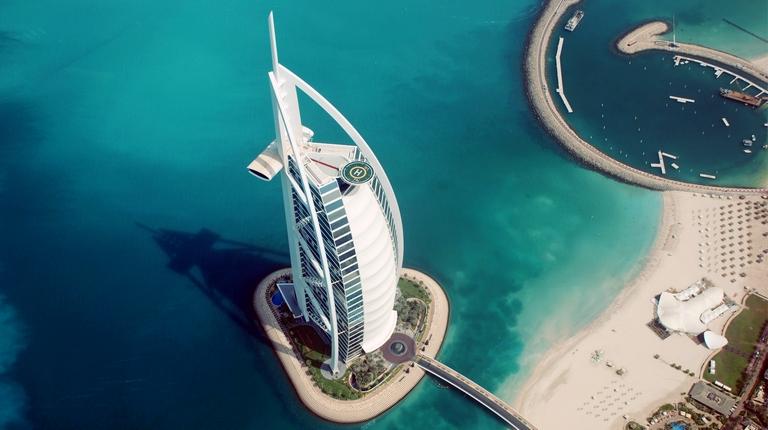 Отель BURJ AL ARAB, Дубай