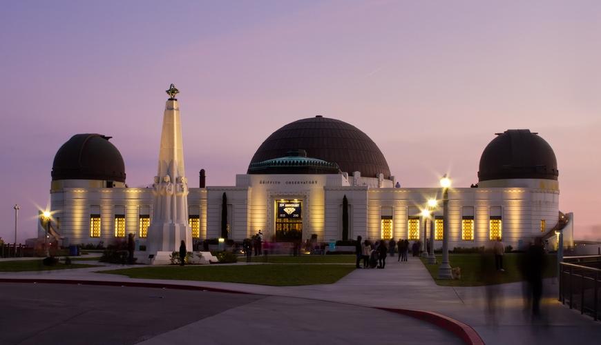 Гриффит-Парк в Лос-Анджелесе, обсерватория Гриффита