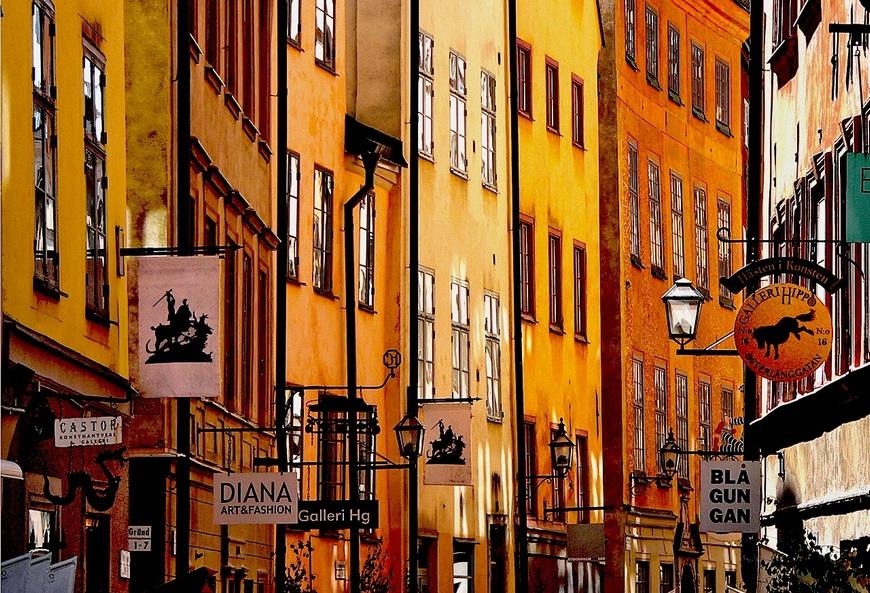 Старый город, Швеция