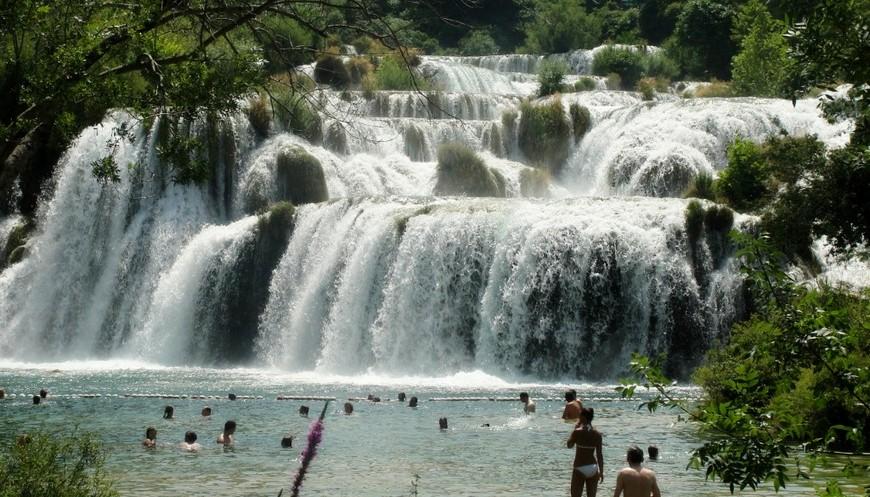 Водопад Скрадинский бук, Хорватия