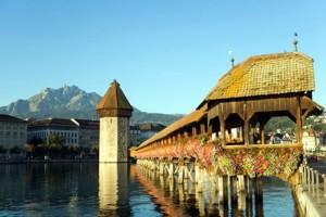 Посетите Люцерн, красивый швейцарский город