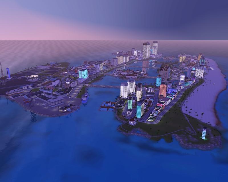 город vice city