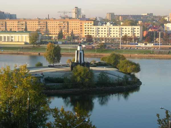 Остров слёз в Минске