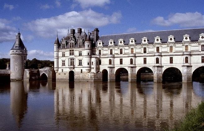 Замок Шенонсо Франция
