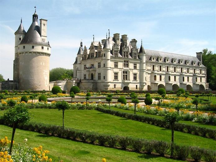 Замок Шенонсо фото