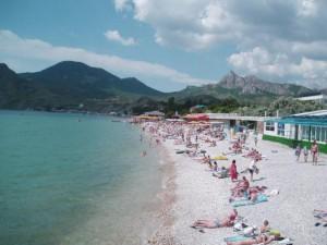 Крым: отдых в Коктебеле