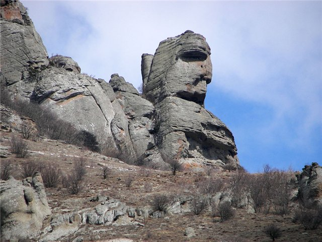 Долина приведений - Крым