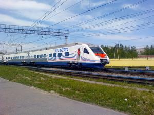 Поезд Аллегро:в Хельсинки из Санкт-Петербурга