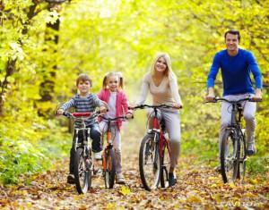 Путешествовать на велосипеде здорово!