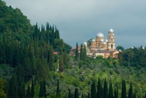 Достопримечательности Нового Афона (Абхазия)
