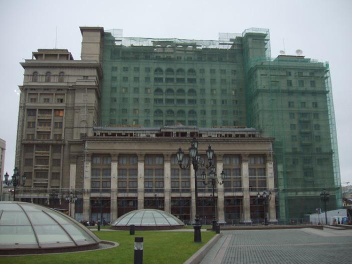 гостиницы-москвы