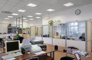Современные помещения под офис