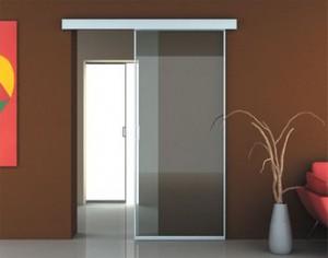 Стеклянные раздвижные двери – это удобно