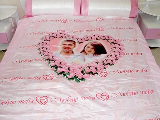 Постельное белье на свадьбу своими руками 75