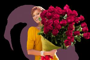 Букеты цветов с адресной доставкой