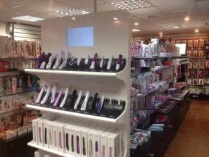 Ассортимент секс — шопов