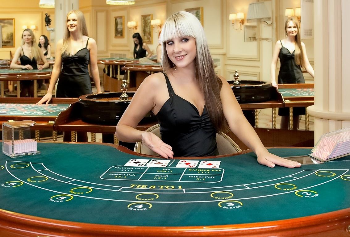 фото Дилерами казино с живыми
