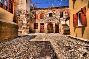 Эретрия — старинный город времен античной Греции