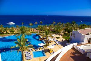 Beautiful resort seashore