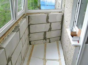 Способы утепления балкона
