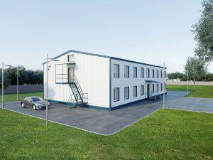 Как строят быстровозводимые модульные здания?