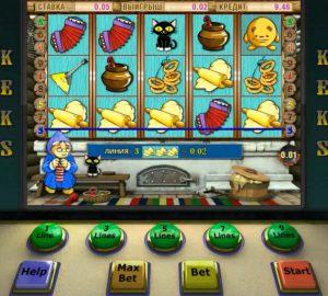 Играем правильно в игровой автомат онлайн Keks